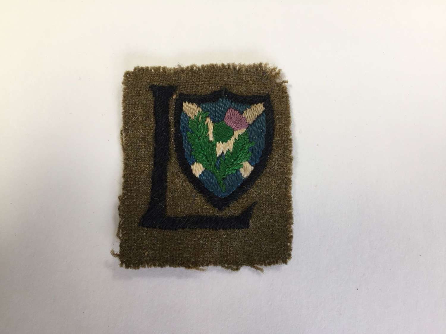 WW1 52nd (Lowland) Division formation sign