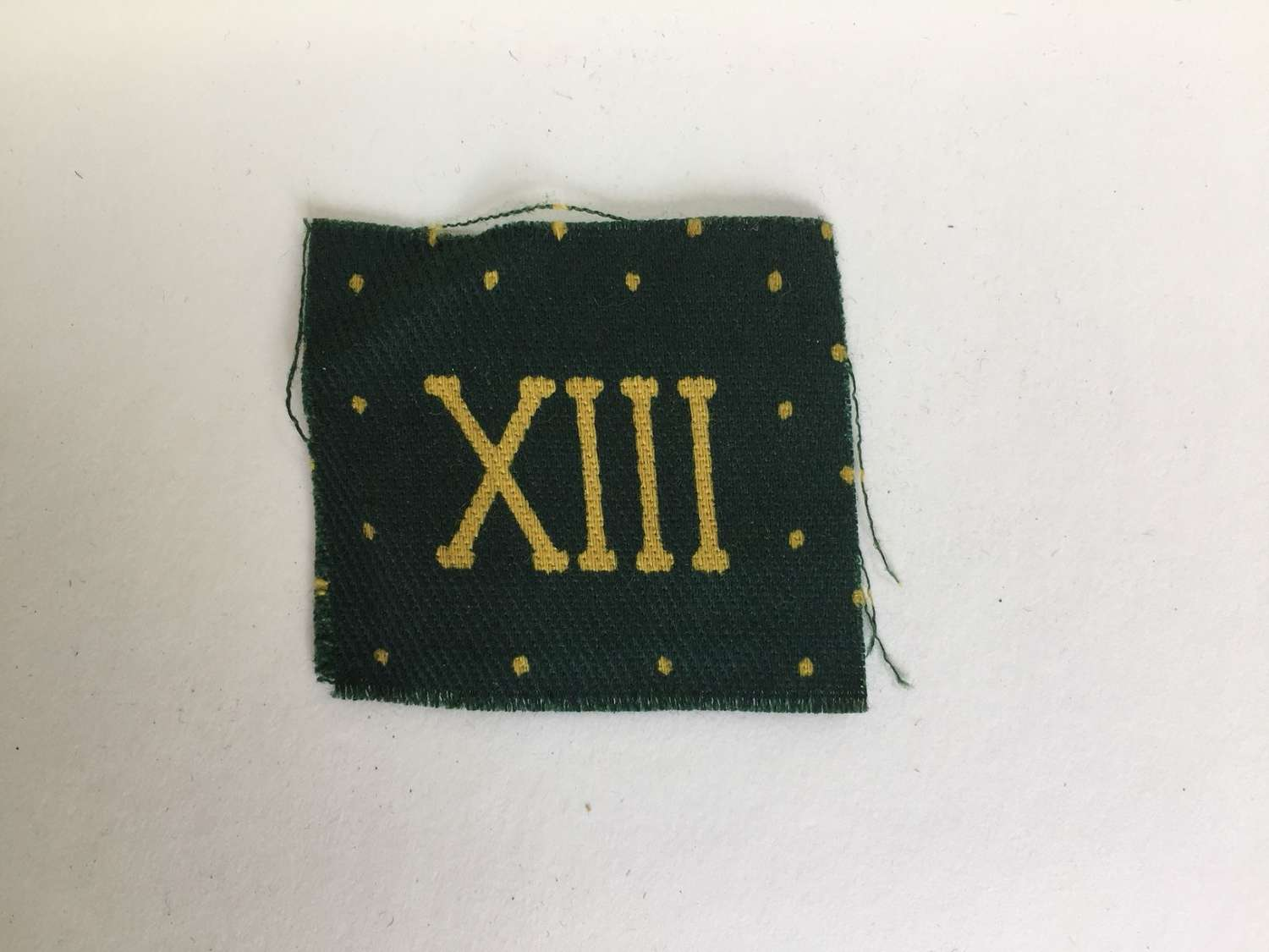 WW2 Somerset LI regimental printed arm badge
