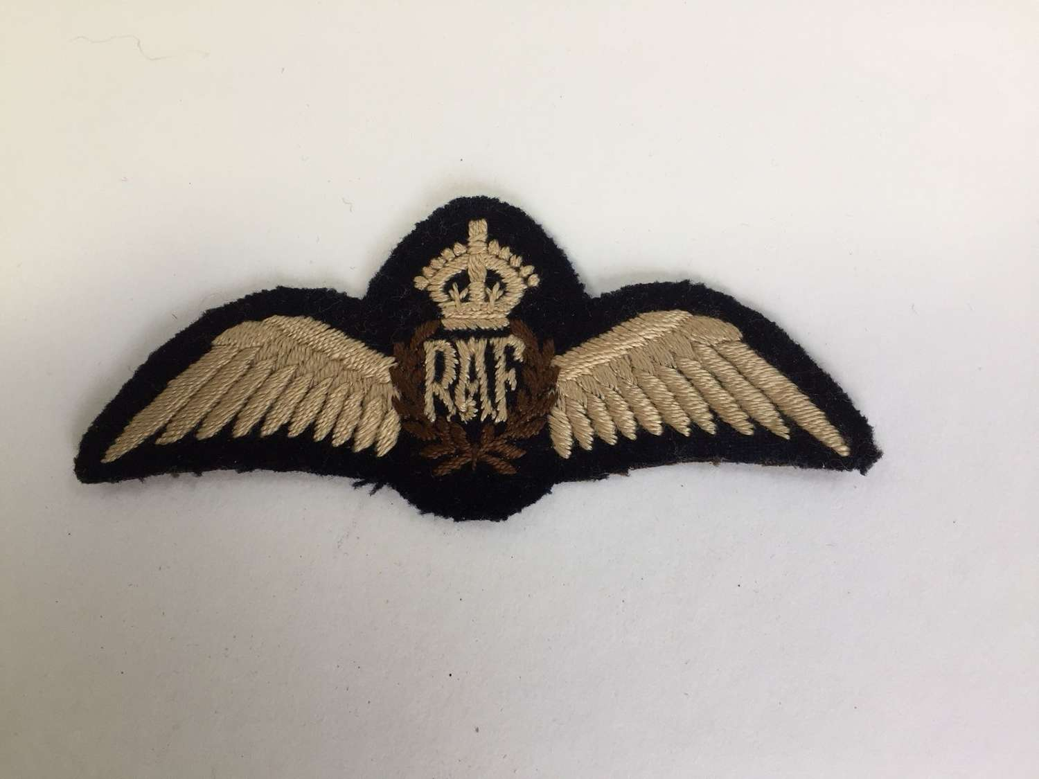 WW2 RAF issue pilot's wing