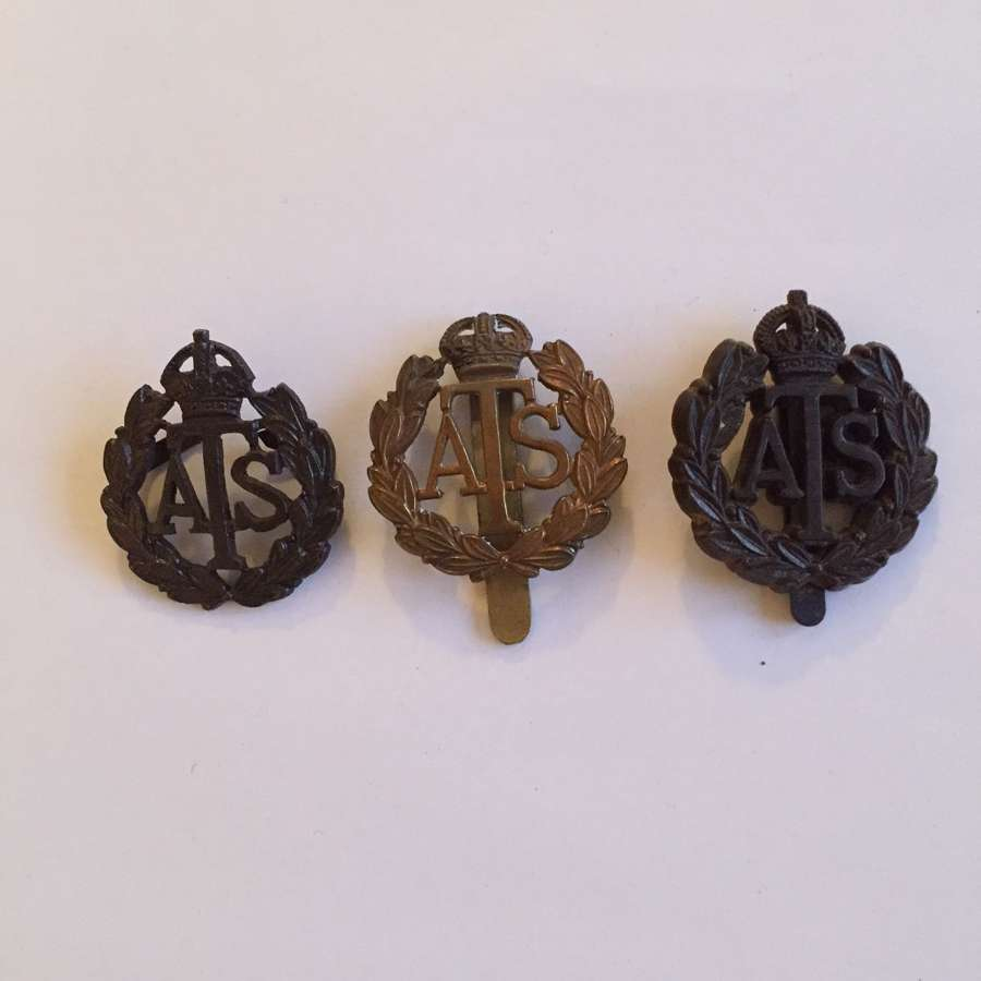 3 types of ATS cap badge