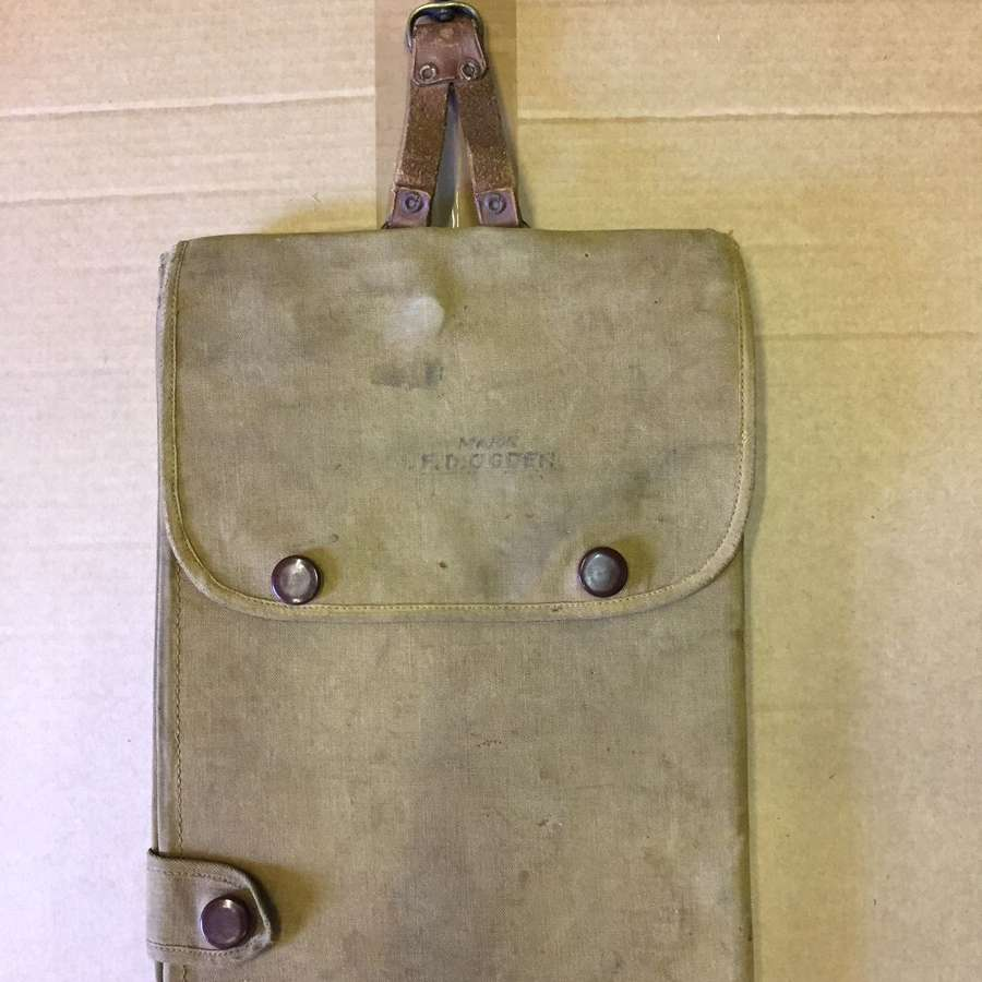 WW1 Officer's map case