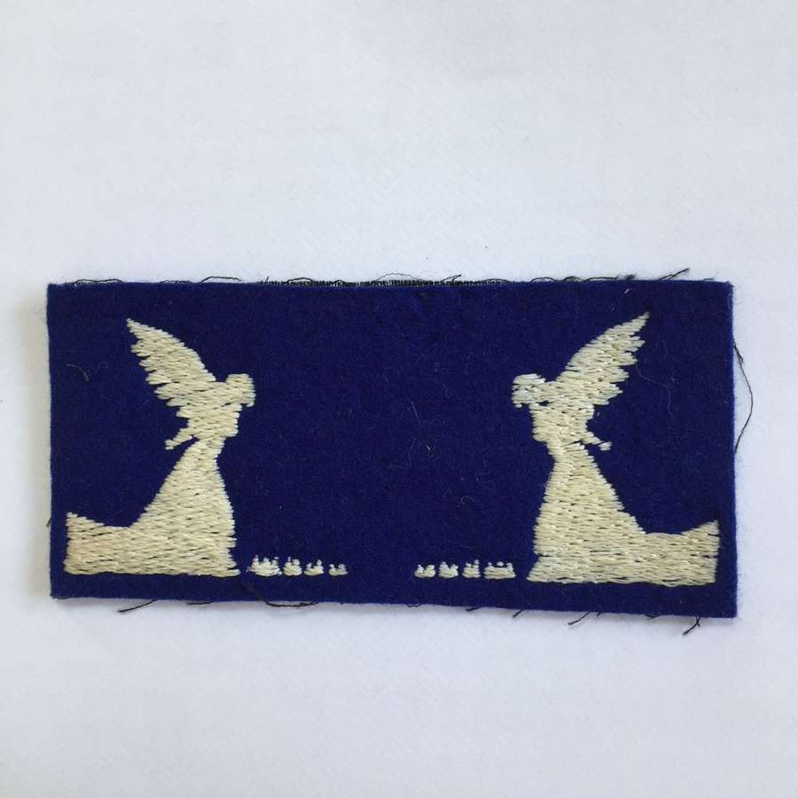 WW2 pair of Hants, Dorset & Aldershot District formation signs