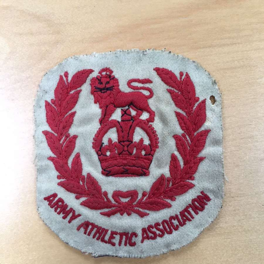 Army Athletic Association badge