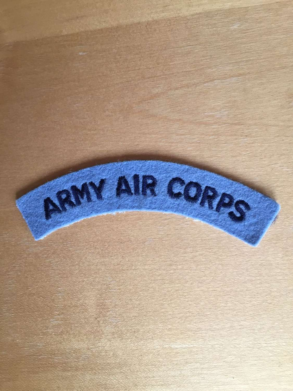 WW2 Army Air Corps shoulder title