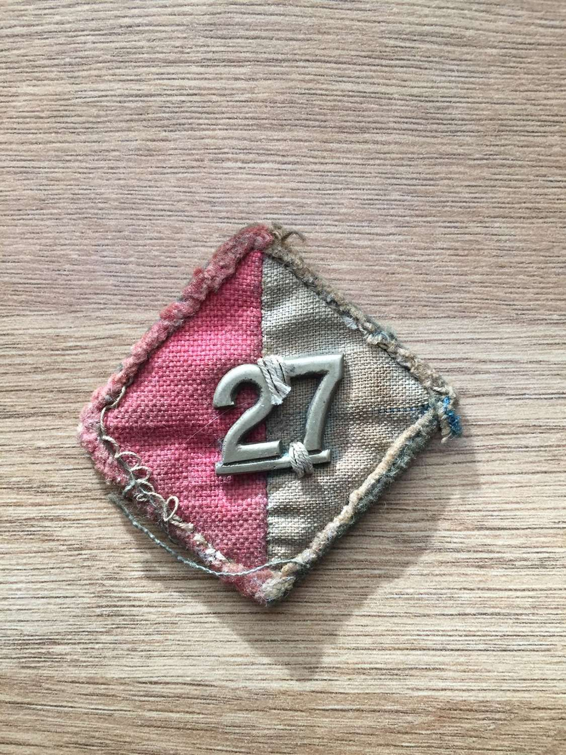 WW2 slouch hat badge