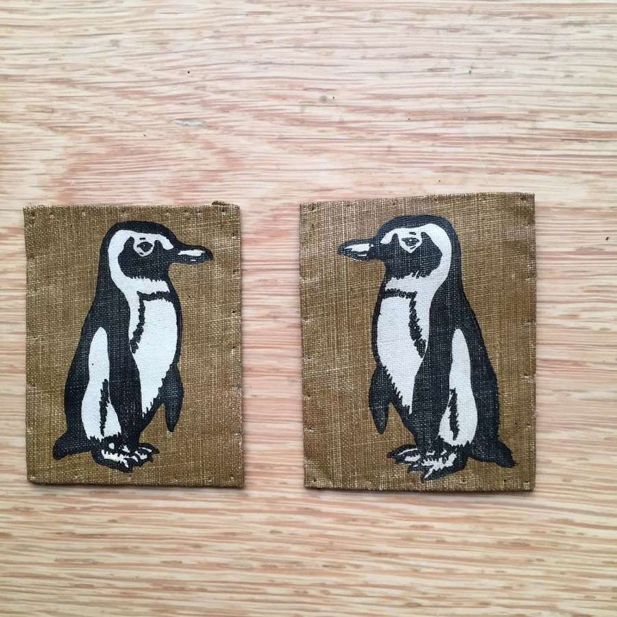 WW2 pair of 22nd Beach Brigade formation signs