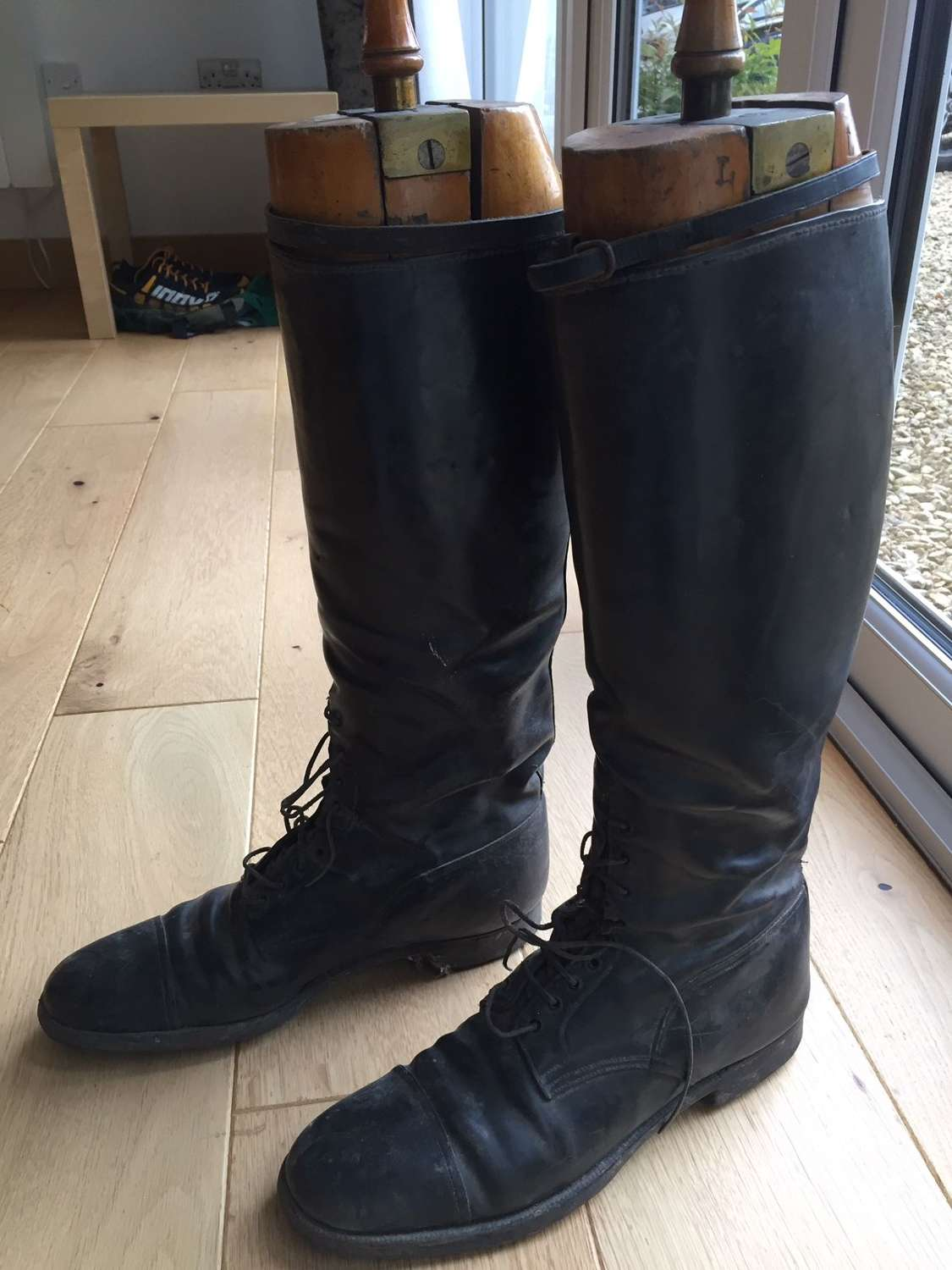 WW1 RA Officer's trench boots
